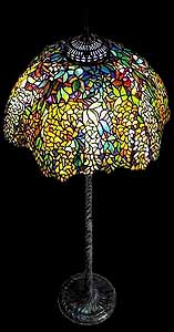 Laburnum Tiffany Floor lamp