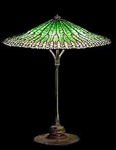 "25"" Lotus Tiffany Lamp"