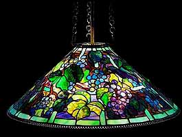 Grape Tiffany lamp